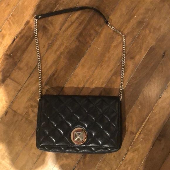 kate spade Handbags - Kate Spade Black Padded Leather Purse